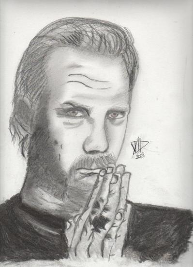 James Hetfield by Marjoriedu40